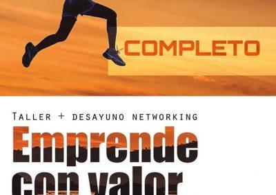 Motiva-te: Taller-emprende con valor.