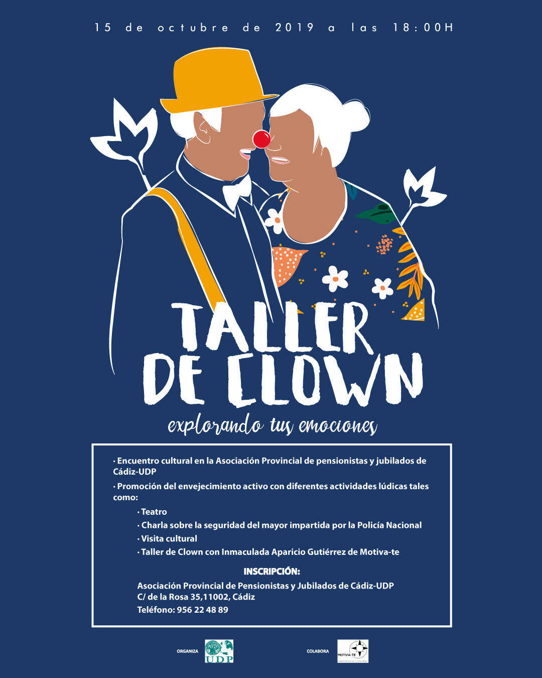 Motiva-te:Taller de clown