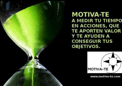 Motiva-te:gestión del tiempo
